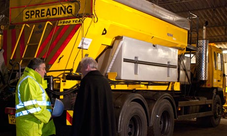 The blessing of the road gritters