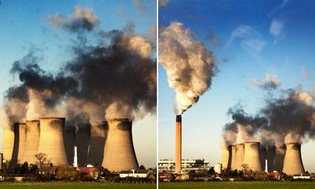 Eggborough power station in north Yorkshire