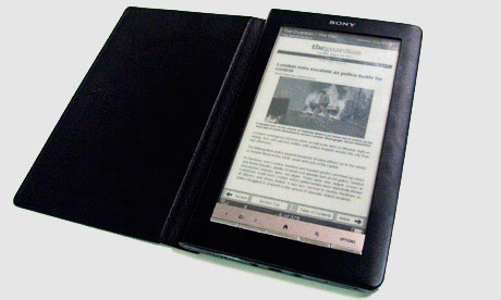 Guardian edition on the Sony ebook reader