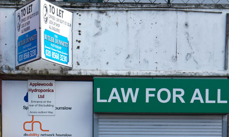 Law for All's office in Brentford