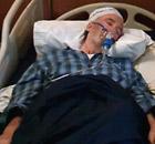 Lockerbie bomber Abdel Basset al-Megrahi, comatose