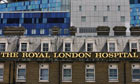 The Royal London Hospital in Whitechapel