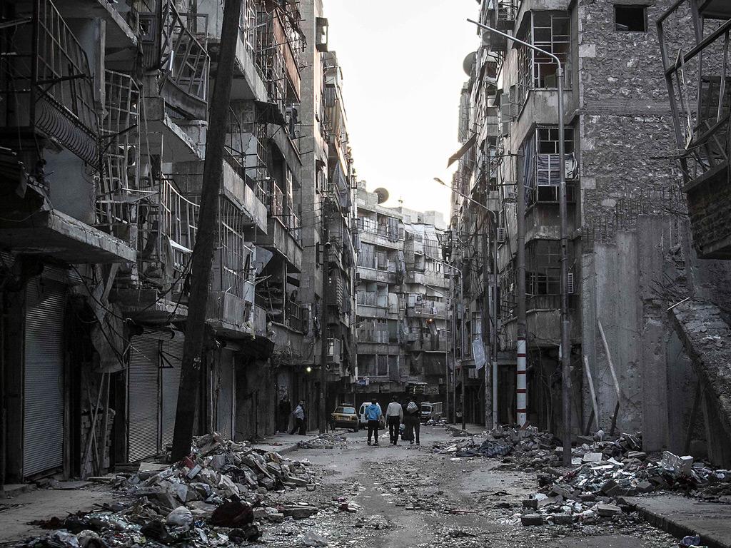 essay about war in syria