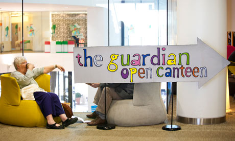 Guardian open canteen