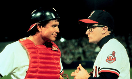 Tom Berenger and Charlie Sheen in Major League