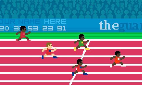 Jeu vidéo spécial Jeux Olympiques par The Guardian