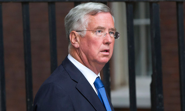 Conservative MP Michael Fallon arrives at Downing Street
