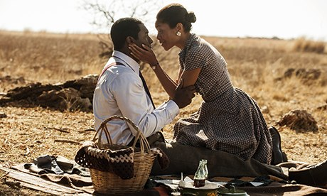 Naomie Harris as Winnie Mandela in a scene from Mandela: Long walk to Freedom