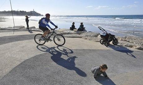 Tel Aviv cycling