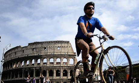 Rome cycling
