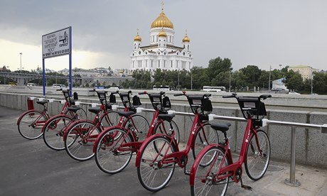 Moscow cycling