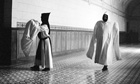 Photograph from the exhibition White Monks: A Life in Shadows