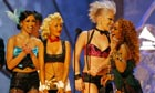 Christina Aguilera, Mya, Lil Kim and Pink get dressed in the dark