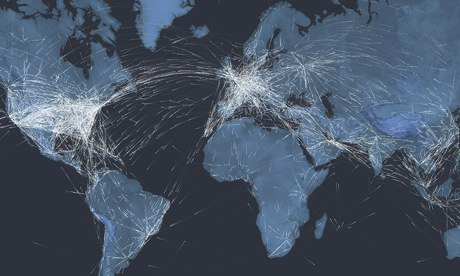In flight: see the planes in the sky right now – interactive