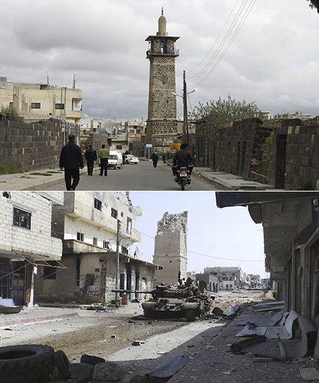 Omari Mosque in Deraa