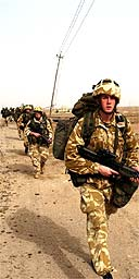 40 Commando Royal Marines in the Al Faw Peninsula, Iraq