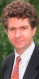 Jonathan Powell, chief of staff at Downing Street