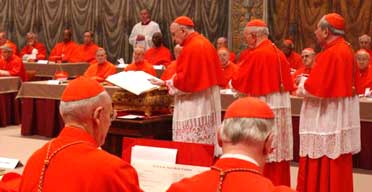 Cardinals begin the Vatican conclave to elect a new pope