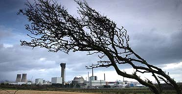 Sellafield nuclear plant, where the Thorp reprocessing plant has been closed