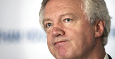 Tory leadership candidate David Davis. Photographer: Peter Macdiarmid/Getty Images