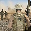 US marines, west of Baghdad