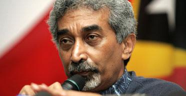 The prime minister of East Timor, Mari Alkatiri. Photograph: Zainal Abd Halim/Reuters