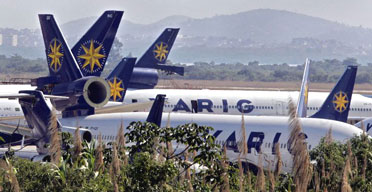Varig aircraft at Rio de Janeiro international airport. Photograph: Caio Leal/AFP/Getty Images