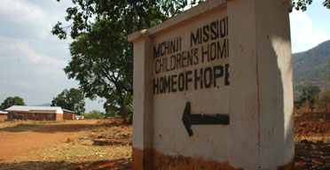 The Home of Hope orphanage in Mchinji, Malawi, where Dav