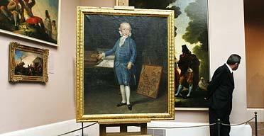 The Goya masterpiece of the six-year-old Infante Don Luis Maria is on show in Madrid's Prado museum after centuries in private hands