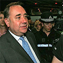 Scottish National Party leader, Alex Salmond