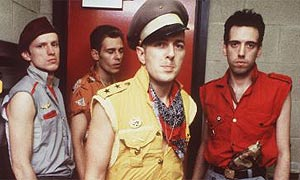 The Clash, Joe Strummer in front