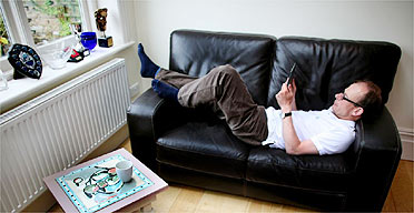Andrew Marr reading a new ebook