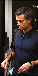 Jose Mourinho Leaving His London Home This Morning  Photograph  John