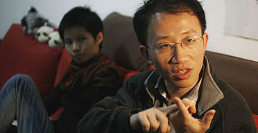 The Chinese activist Hu Jia