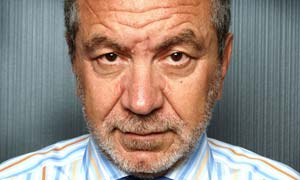 Sir Alan Sugar from the Apprentice