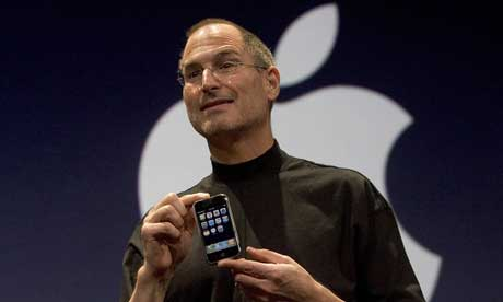 steve jobs sick. Apple boss Steve Jobs with the