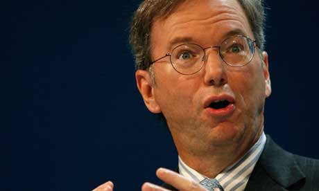 Eric Schmidt, Google