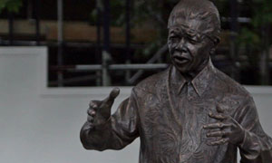 Nelson Mandela statue unveiling