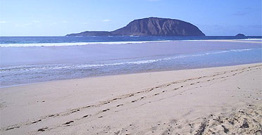 Montana Clara island, Spain