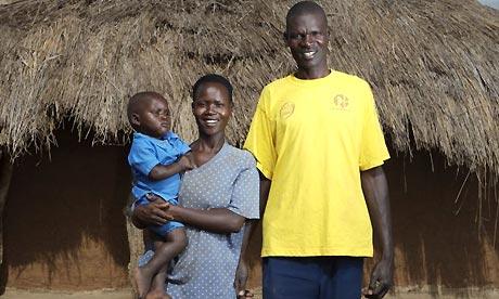 Katine: Mary Amulo and Julius Elwangu