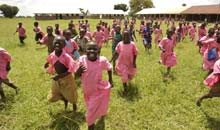 Katine: Students at Katine Primary School
