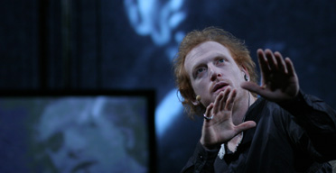 The Wooster Group performs Hamlet at New York's Public theatre. Photo: Paula Court