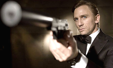 Daniel Craig, as James Bond