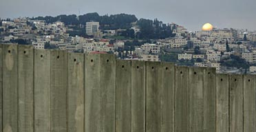 Israel's separation barrier.