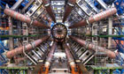 ATLAS tunnel, part of the LHC (Large Hadron Collider)