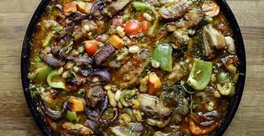 Allegra McEvedy's recipes for G2. Pork and beans