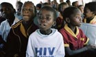 Boy with HIV South Africa