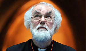 The Archbishop of Canterbury Rowan Williams