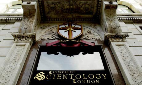 The Church of Scientology Centre in Queen Victoria Street, London