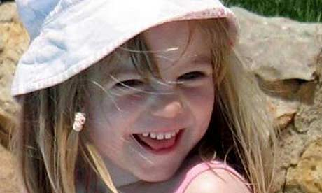 Madeleine McCann on the day she disappeared
